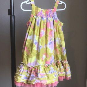 Cherokee floral twirly dress 4T